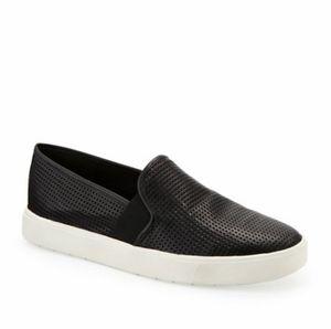 Vince Blair Perforated Slip On Sneakers
